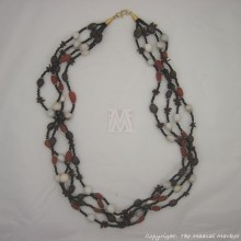 Maasai Beads Seeds Strand Necklace