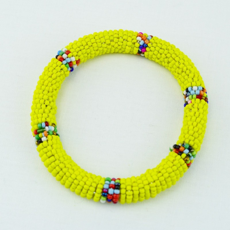 Yellow Maasai Bracelet