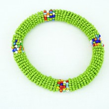 Light Green Maasai Bracelet