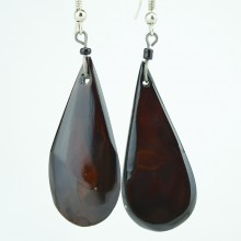 Tear Drop Cow Horn Earrings