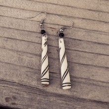 Cow Bone  Earrings