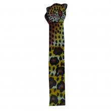 Cheetah Leather Bookmark