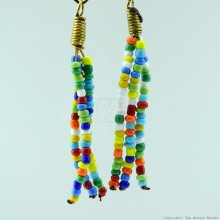 maasai multi color beaded earrings 130 24 maasai multi color beaded earrings 130 24