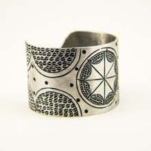 Recycled Aluminium Cuff Bracelet 593