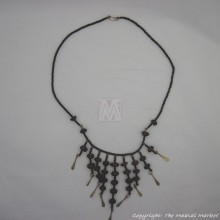 Masai Bead Seed Chandelier Necklace