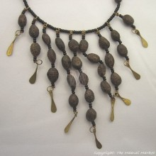 Seeds and Maasai Beads Necklace
