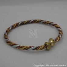 Brass, Copper Wire Bracelet