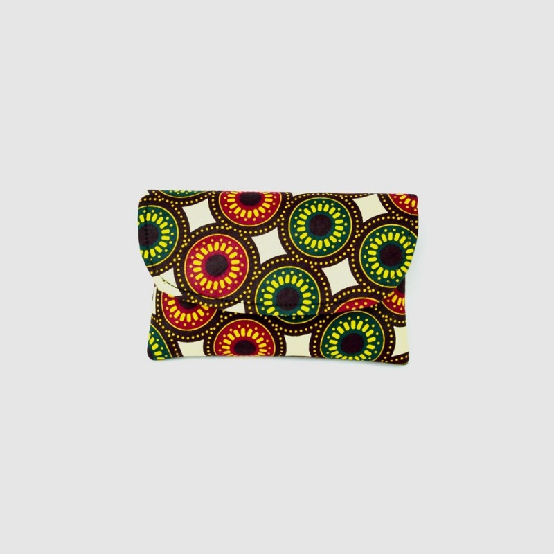 Small Kitenge Fabric Clutch