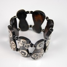 Bone Gourd Shape Batik Bracelet
