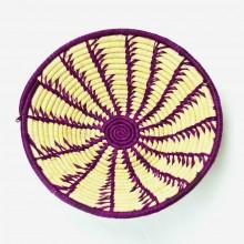 Uganda Handmade Banana Leaf/ Raffia Spinning Reeds Basket