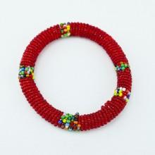 Red Maasai Bracelet