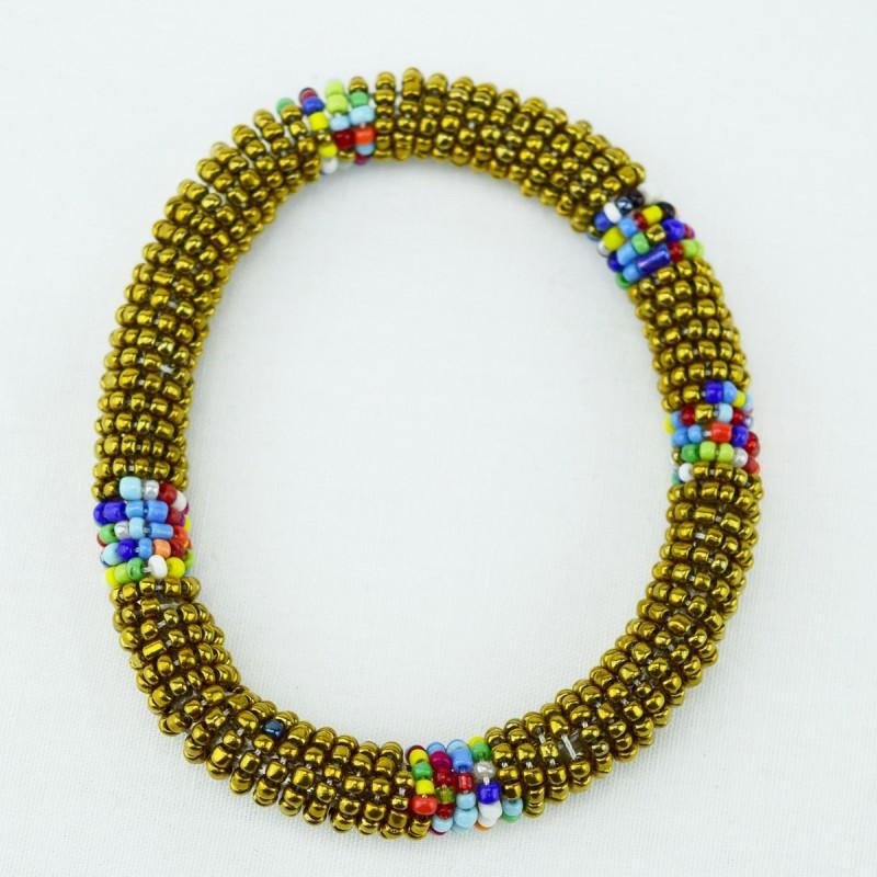 Gold Maasai Bracelet