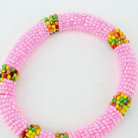 Pink Maasai Bracelet