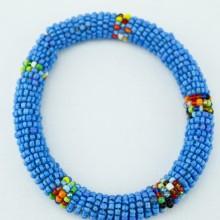 Blue Maasai Bracelet