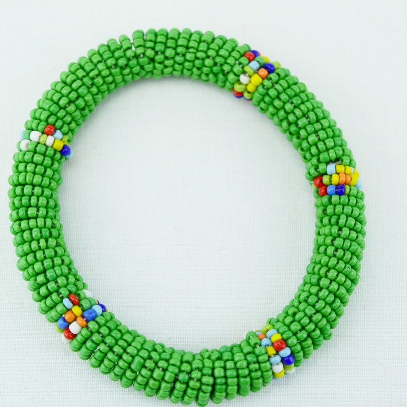 Green Maasai Bracelet