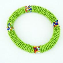 Light Green Maasai Bracelet