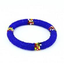 Dark Blue Maasai Bracelet