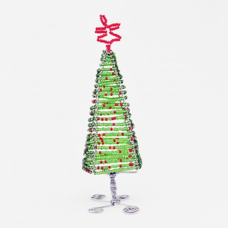 Maasai Bead Wire Christmas Tree