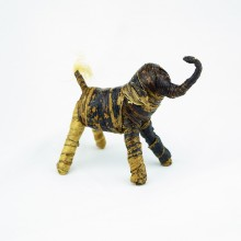 Handmade Banana Fiber Animal Elephant