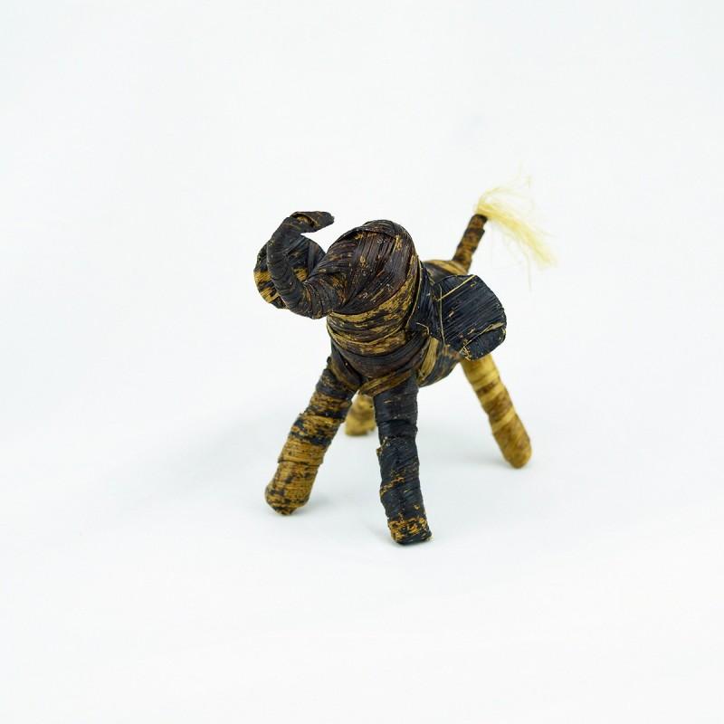 Handmade Banana Fiber Animal Elephant