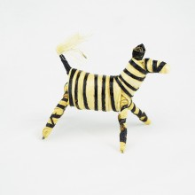 Handmade Banana Fiber Animal Zebra