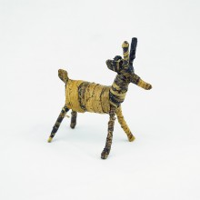 Handmade Banana Fiber Animal Christmas Reindeer