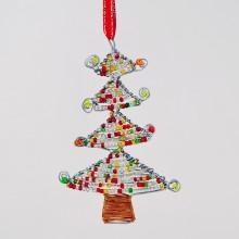 Maasai Bead Wire Christmas Tree Ornament