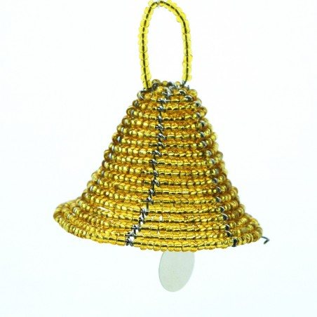 Maasai Bead Christmas Bell Ornament