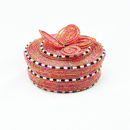 Maasai Bead Wire Jewelry Box