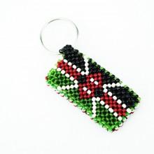 Kenya Flag Maasai Bead...