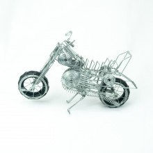 Handmade Wire Motorcycle