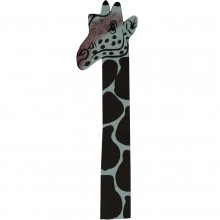 Giraffe Leather Bookmark