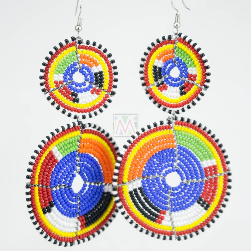 maasai earrings