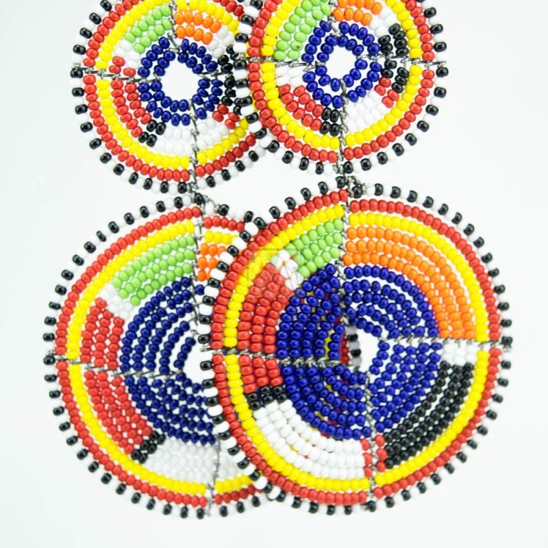 african hoop earrings