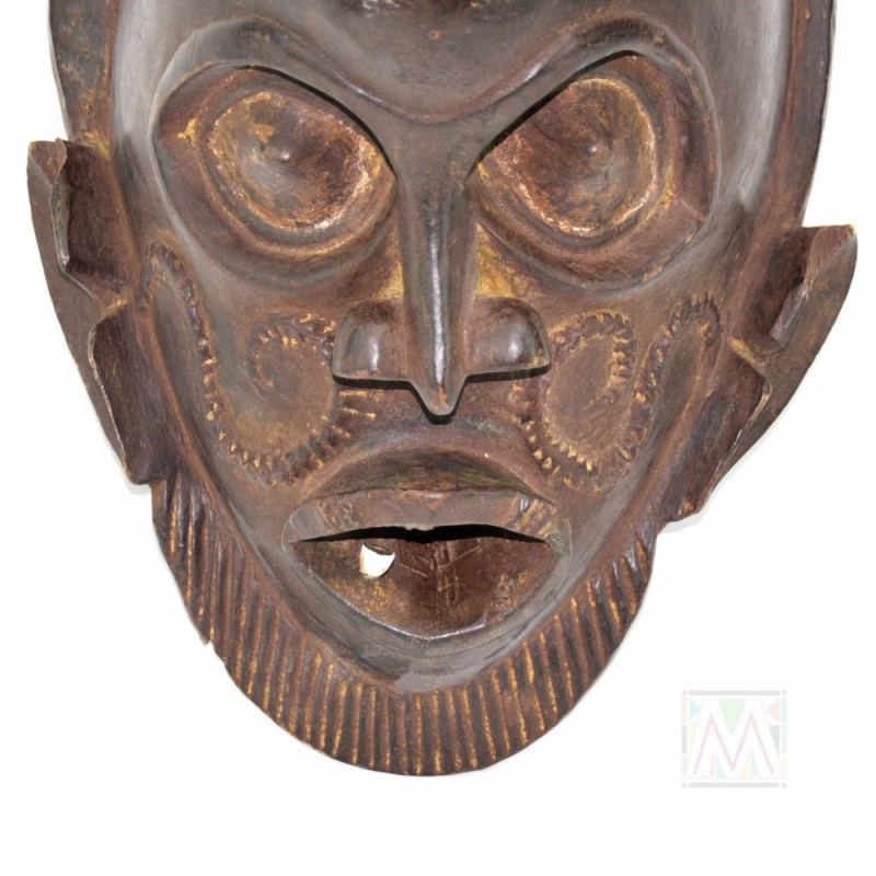 African Bamileke Mask From The Grasslands Cameroon