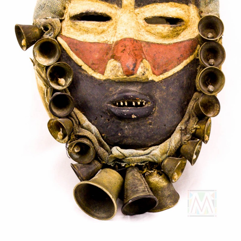 Dan Tribal singer mask from The Ivory Coast 15""