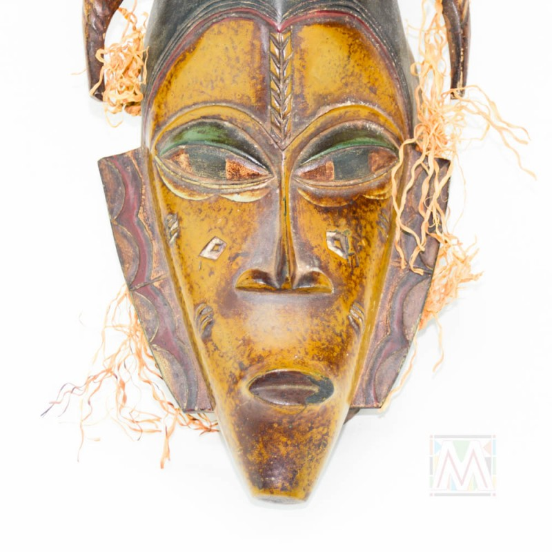 Guro Kweni Wood Mask 15""