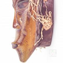 """Guro Kweni Wood Mask 15"""""""