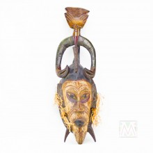 Guro Kweni Wood Mask 18""