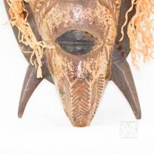 """Guro Kweni Wood Mask 18"""""""