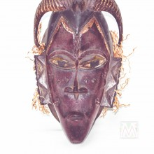 Guro Kweni Wood Mask 16""