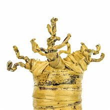 Handmade Banana Fiber Baobab Tree