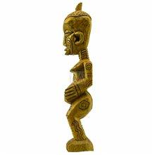 Bena Luluwa Maternity/ Fertility Figure (Bwanga Bwa Cibola)