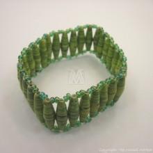 Recycled Paper Maasai Bead Bracelet 670-28
