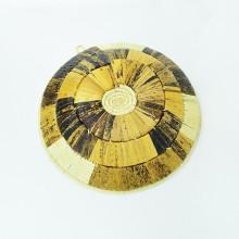 Uganda Handmade Banana Leaf/ Raffia Checkers Basket