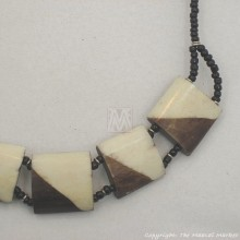 Cow bone Choker Necklace