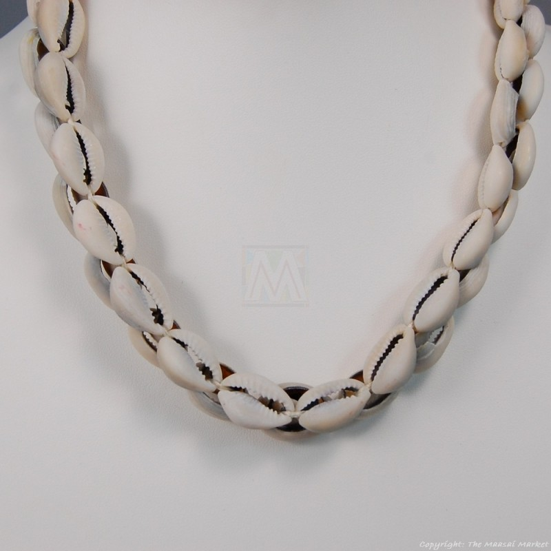 Cowrie Shells Choker Necklace 149-103