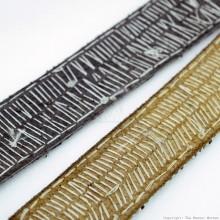 Maasai Bead Leather Bracelet Cuff 408-40