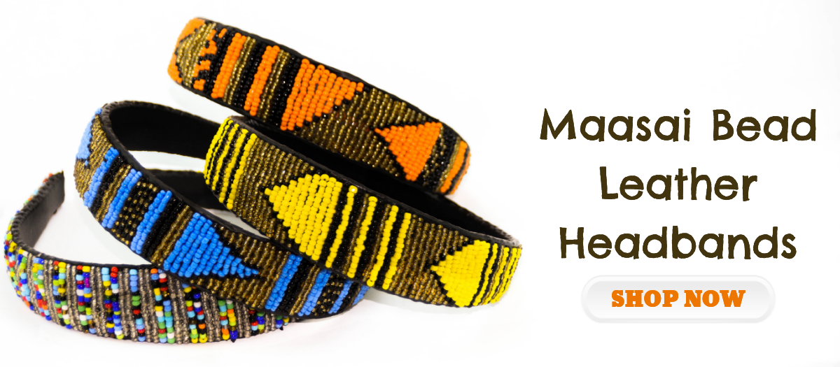 Maasai Bead Headbands