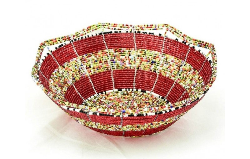 Maasai Bead Baskets and Containers